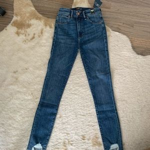 Never worn high rise jeans